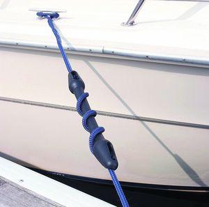Image 2 - 22 24mm Marine Mooring Snubber Boat Dock Line Rope Rubber Snubber Black