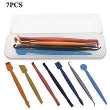 7pcs strumenti per avvolgere il vinile adesivi per auto in fibra di carbonio pellicola installa Stick tergipavimento magnetico Set strumenti per auto raschietto accessori per auto
