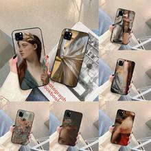 Renaissance art Painting Phone Case For iphone 5s 6 7 8 11 12 plus xsmax xr pro mini se Cover Fundas Coque