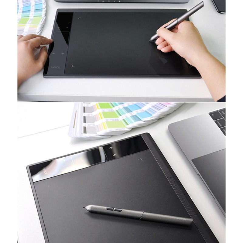 Níveis Polegada Área Ativa Digital Tablet Caneta Passiva Gráfico Desenho 8192 10×6