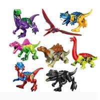 Building Blocks Avengers World Park Dino Lepining Jurassic World Dinosaur Toys Model Bricks Christmas Gift Toys For Children