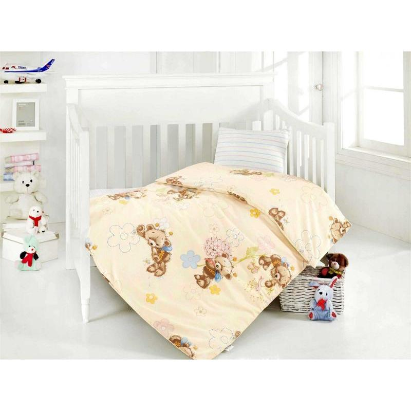 Фото - Bedding Set for baby ALTINBASAK, YUMAK, cream bedding set for baby altinbasak dream garden