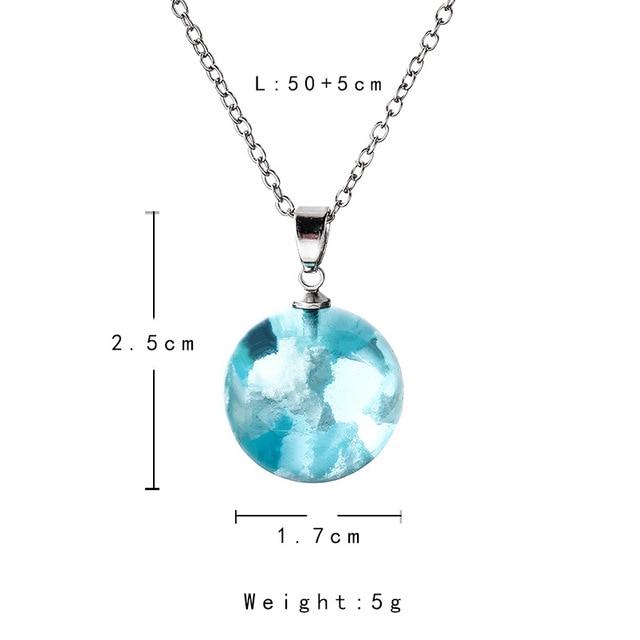 blue moon drop necklace 4