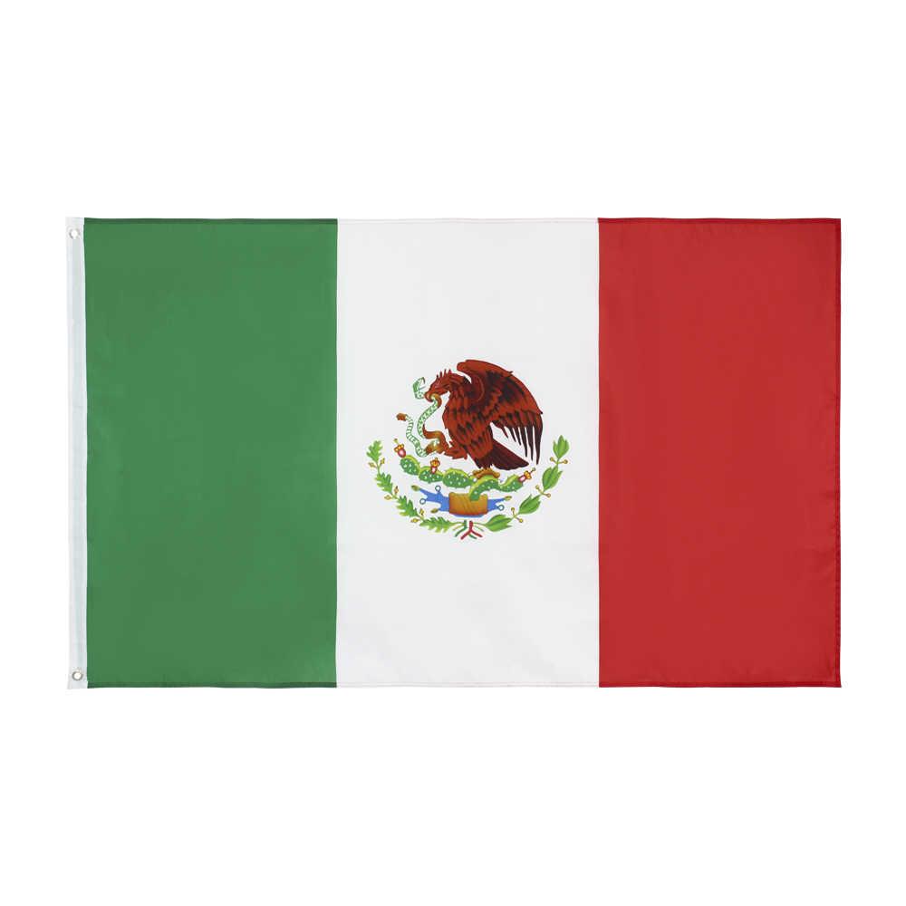 Flaglink 3X5 Fts 90*150 Centimetri Mx Mex Mexicanos Messico Bandiera Della Messicano
