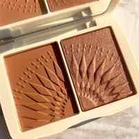 Focallure rosto maquiagem bronzer paleta liso pigmentado natural fosco blush em pó