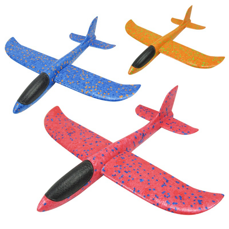 3pcs Baby Outdoor Sports Hand Thrown Toys Plane Glider Inertia Foam <font><b>Aircraft</b></font> Children <font><b>Model</b></font> Airplane Kids Educational Toys hot image