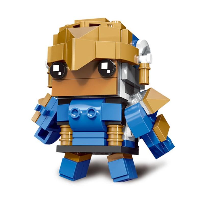 Decool Mini Overwatching Figures Super Heroes model Brickheadz Building Blocks Bricks Toys for children gifts Juguetes 3