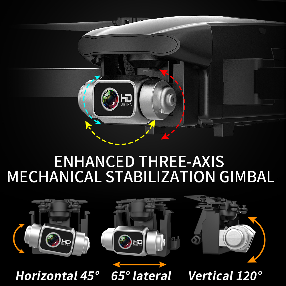 2021 NEW CSF100 Drone 6K HD Camera 3-axis Gimbal 35 mins Flight Time Brushless Aerial Photography GPS WIFI FPV vs SG906 pro2 F11