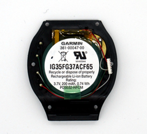 Carcasas originales para puerta de batería para GARMIN Forerunner 210 361-00047-00, funda para reloj GPS, parte trasera con partes de repuesto para batería