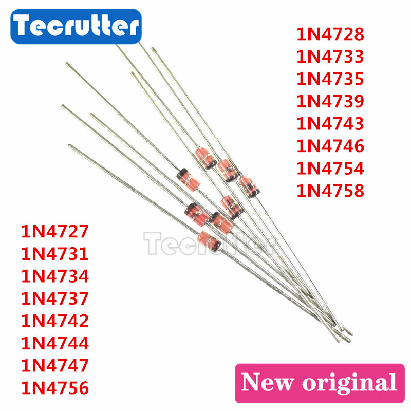 /' 1N4727A 20  pcs 1W 3V ZENER DIODE from USA