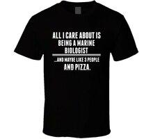 Все, о чем я заботился-это футболка для морских биологов