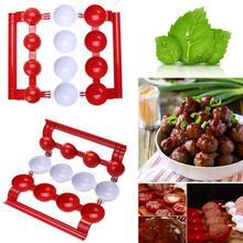 Новая форма для фрикаделек, для изготовления рыбных шариков, для рождественской вечеринки, для кухни, для самостоятельной набивки, для приготовления пищи, для приготовления пищи, Шариковая машина, кухонные инструменты, аксессуары