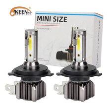 OKEEN Universal H4 LED Headlight Bulbs H1 H11 H9 H7 H3 H27 900512000LM 6000K White High and Low Beam Light Wireless Lamp 12V 24V