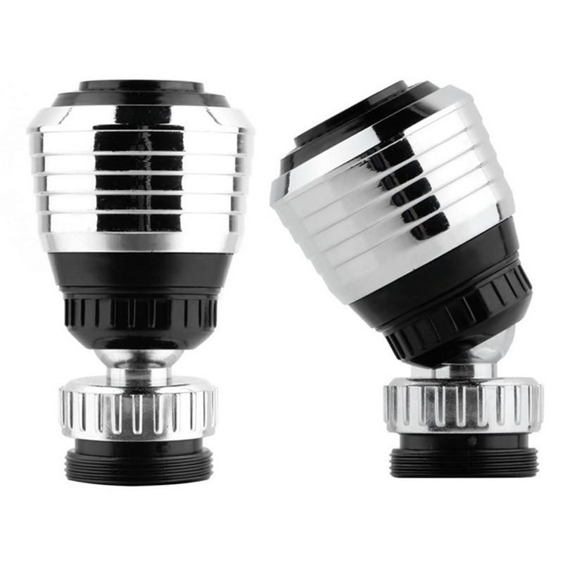 1pcAdjustable 360°Swivel Faucet Water Bubbler Saving Tap Antisplash Aerator Diffuser Faucet Filter Bathroom Kitchen Accessories