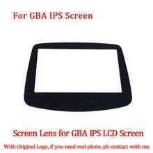 LCD cam ekran lensi değiştirme GBA aydınlatmalı IPS LCD ekran 10 seviyeleri yüksek ışık parlaklığı için GBA konsolu ekran