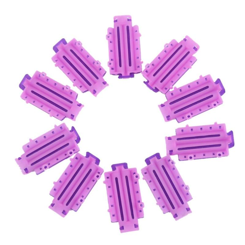 36 adet/kutu dalga kabarık bayan perma çubukları görünmez sıcak saç mısır Bar klip aracı