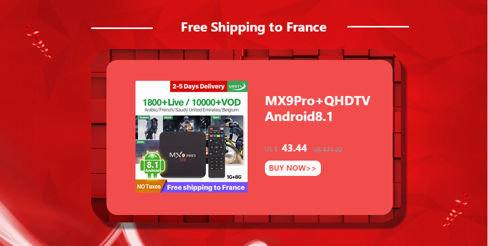 Android 9 0 IPTV France Arabic Box TX6 4+32G BT5 0 Dual-Band WIFI IP TV 1  Year SUBTV Subscription 4K Arabic France IPTV Receiver