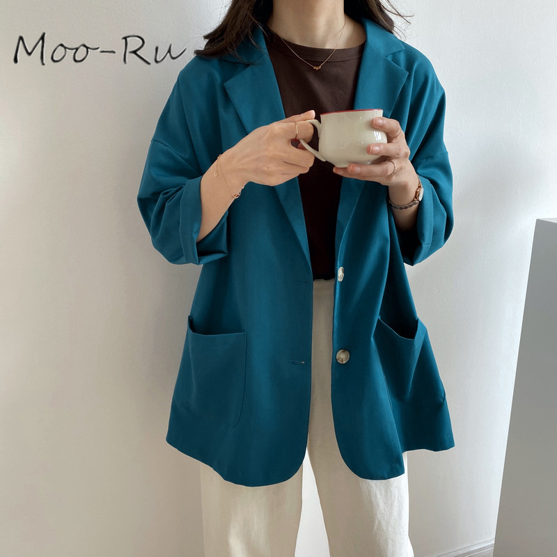 Moo-Ru 2020 Early Spring New Homemade This Period Must Enter! Ultra-beautiful Long-sleeved Sunscreen Suit Jacket for Female