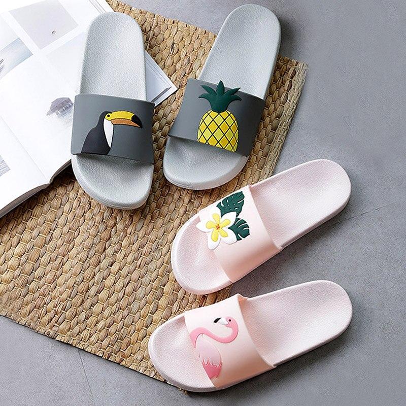 Chinelos de verão feminino bonito frutas melancia morango sola macia praia slides indoor & outdoor chinelos sandálias femininos sapatos