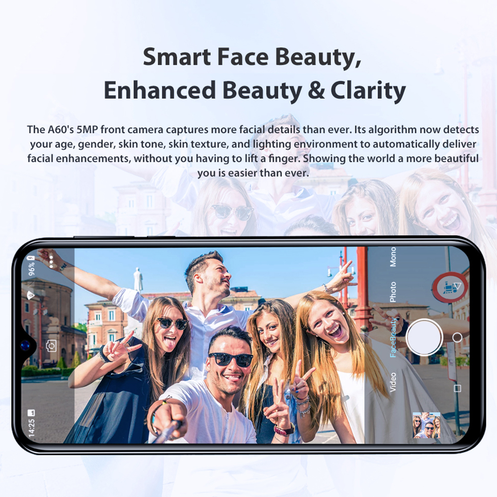 Купить смартфон blackview a60 plus на android 10 четыре ядра экран