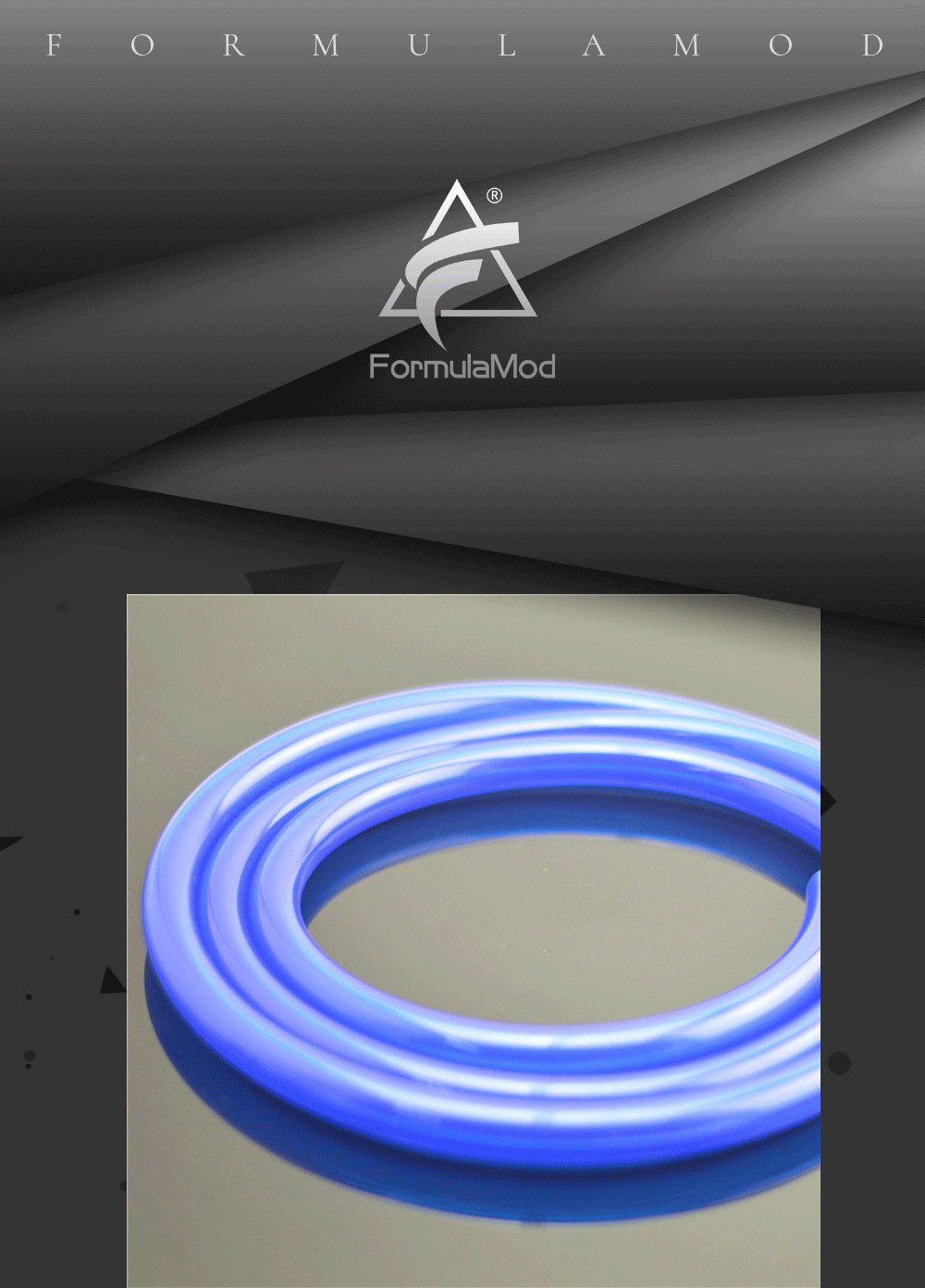 """FormulaMod Fm-3FHG, 3/8""""ID*5/8""""OD 10x16mm Soft Tubes, For Water Cooling System Pipeline Construction, 1 Meter/pcs"""