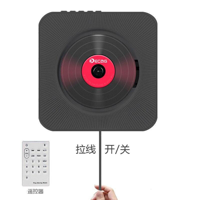 CD montado en la pared reproductor de CD Home reading CD máquina Bluetooth CD Radio para la educación Prenatal