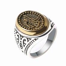 De moda de anillo de Joker para los hombres y las mujeres anillo de titanio hombre Punk tendencia Vintage anillo joyería de moda Hip Hop mujer anillo de boda
