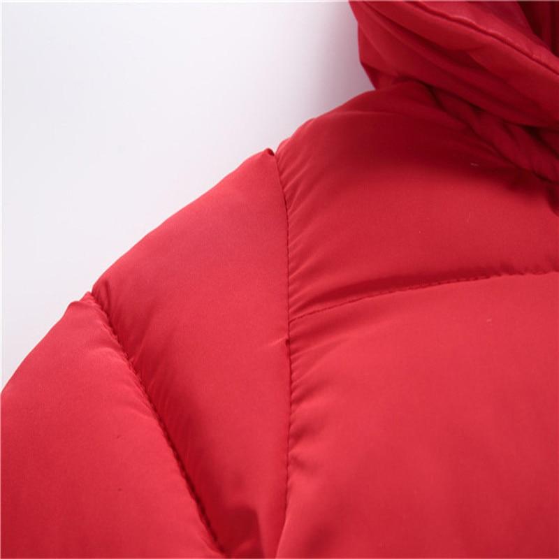 Baby jumpsuit down jacket Newborn Baby Boy Girl Cartoon Winter Warm Thick Jumpsuit Hooded Coat Outwear #4AA22 (16)