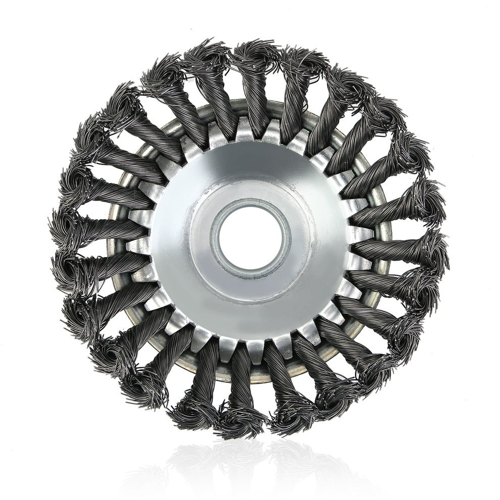 Tools : Universal Rotary Brush Strimmer Head High Carbon Steel Inner Hole 25 4mm