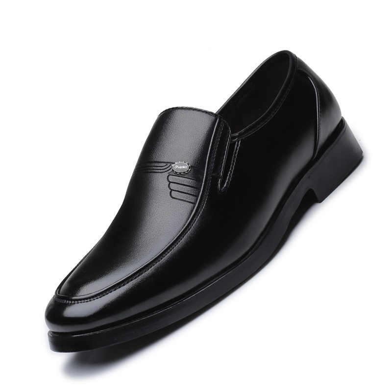 Hommes Smart Chaussures Italienne Formel Mariage Bureau Travail Décontracté Bottes en Cuir Tailles