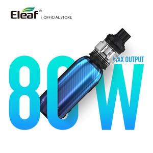 Image 3 - [Fr] original eleaf istick aro c com 4ml melo 5 kit saída 80w potência EC M/EC S bobina por tipo c cabo cigarro eletrônico