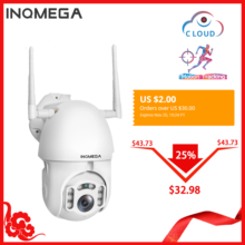 INQMEGA 1080P IP Camera WiFi Wireless Auto tracking PTZ Speed Dome Camera Outdoor CCTV Security Surveillance Waterproof Camera(China)