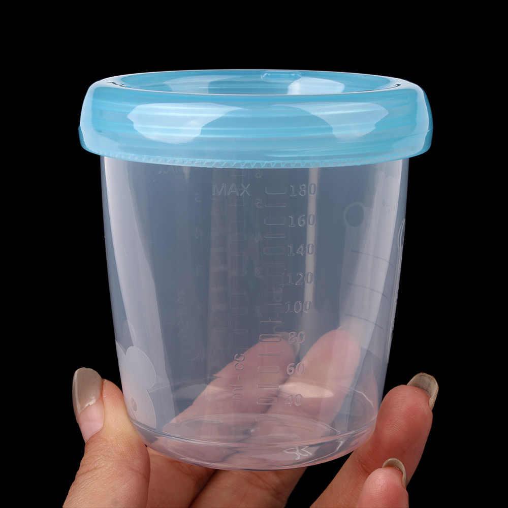 1 шт., 180 мл, хранение грудного молока, бутылка, широкий калибр, пищевой стакан для хранения, для новорожденных, еда, морозильник, свежая чашка
