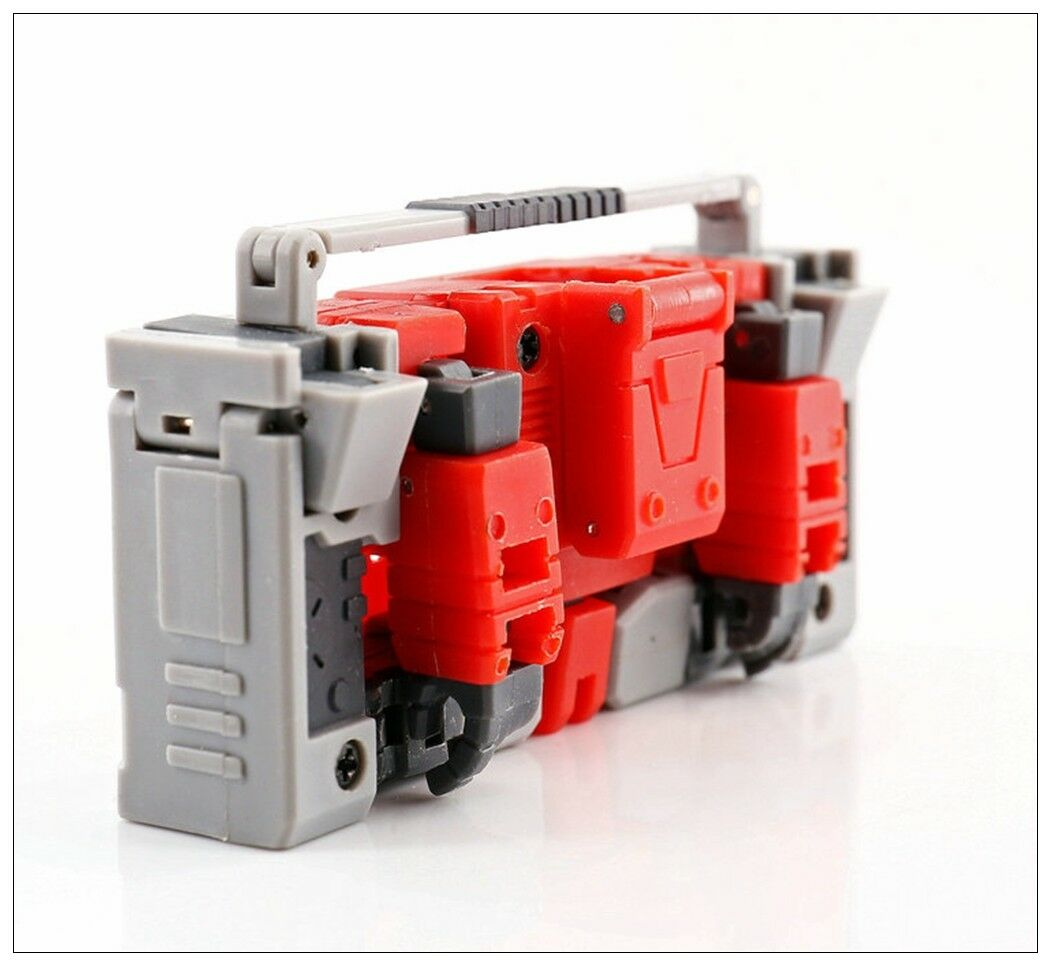 New MS-TOYS MS-B17 Robot Action Figure Stereo Master mini Blaster Transformeable