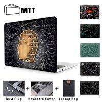 Mtt Laptop Case Voor Macbook Pro 13 15 Inch Geometrie Schoolbord Cover Voor Macbook Air Pro Retina 11 12 13 15 16 Laptop Bag Sleeve