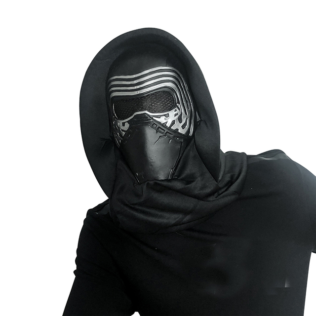 Film Darth Vader Cosplay maske lateks Stormtrooper Darth Vader mandaloryalı kask Kylo Ren fırtına birlikleri kostüm sahne