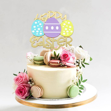 Cake-Decoration-Product Birthday Insert-Card Dress-Up Shower Happy-Easter Baking Baby