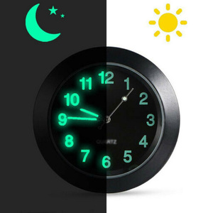 Interior Car Clock Inner Black
