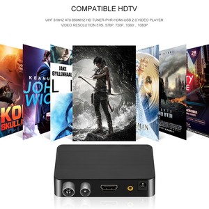 Image 5 - New HD 1080p Dvb T2 TV Box Dvb t2 Tv Tuner For Monitor Adapter USB 2.0 Tuner Satellite Receiver For Europe Russia Czech Spain