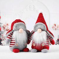 Weihnachten Schwedisch Gnome Santa Plüsch Spielzeug Puppe Ornamente Urlaub Home Party Dekoration Kinder Weihnachten Geschenk freundin und freund