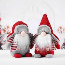 Jouets en peluche de noël en forme de Gnome suédoise, poupée, ornements de fête pour la maison, cadeau de noël pour enfants, petite amie et petit ami