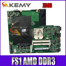 Материнская плата Akemy DALZ3BMB6E0 для ноутбука Lenovo Z585, материнская плата FS1 AMD DDR3 100%, протестированная работа