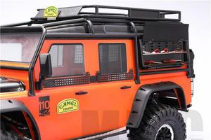 Image 4 - MJRC Suitable for 1/10 simulation climbing car TRAXXAS TRX4 Defender D90 RC4WD D110 SCX10 AXIAL tool box toolbox can be opened