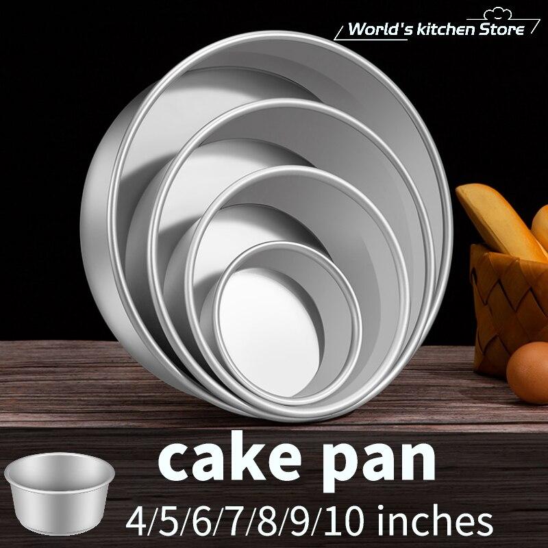Съемный мусс, шифон, форма для торта, анодирование, сковорода для торта, духовка, инструменты для выпечки, инструменты для выпечки, форма для выпечки, сковорода для выпечки, оптовая продажа|aluminum alloy round|baking tools mouldalloy tool moulds | АлиЭкспресс