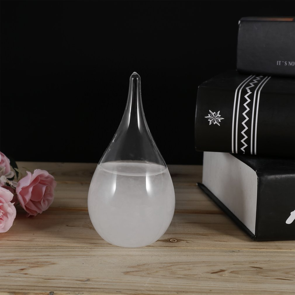 Прозрачная бутылка для погоды штормовое стекло кристальная бутылка для воды барометр украшения Прямая поставка