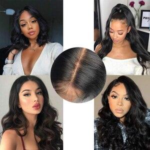 Image 5 - Человеческие волосы для наращивания, волнистые бразильские волосы Remy, натуральный цвет, необработанные человеческие волосы, пряди 3 пряди
