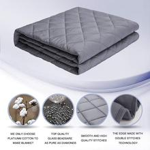 Weighted Blanket for Autism Anxiety Gravity Blankets Adult Calming And Tranquility Reduce Insomnia Stress
