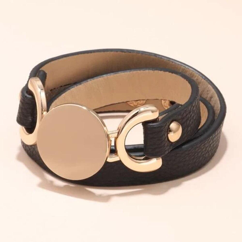 Kirykle-Bracelet de Bracelet en cuir, Simple, multicouche, Original, le rôle Ofing est dégusté, nouveau nouveauté 2019