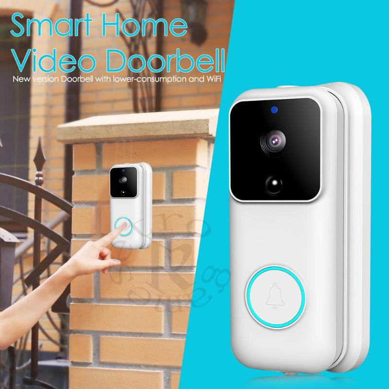 20pcs Anytek B60 HD WIFI Doorbell Smart Video Door Bell Visual Intercom IP Door Bell Cloud Storage Wireless Security Camera