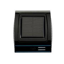 цена на Portable Solar Vehicle Air Purifier Indoor Anion Fresh Air Mini Car Oxygen Bar